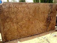 Мрамор коричневый «дождевой лес»