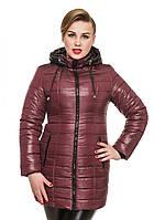 Стильная Зимняя куртка. Утеплитель-синтепон 240. Капюшон (съемный) с интересным кроем