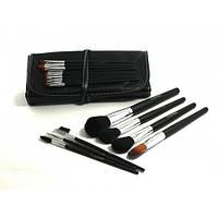 Набор кистей для макияжа МАС 16 штук ( в чехле),кисточки для макияжа