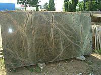 Мрамор зеленый «дождевой лес»