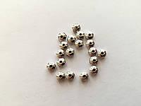 Заготовки для браслетов металлические. Цвет античное серебро. 5мм