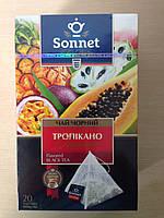 Чай Соннет черный 20 пирамидок Тропикано