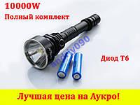 Подствольный фонарик кнопка POLICE Q2805 T6 фонарь