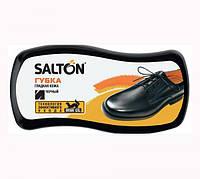 Губка  ВОЛНА для обуви (гладкая кожа) SALTON  Черная