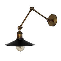 Настенно-потолочный светильник купол Loft Steampunk [ on Wall Ceiling Black ] ( 3-х поворотный )