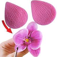 Силиконовый молд, вайнер лепесток орхидеи Ванды. Молд двухсторонний.