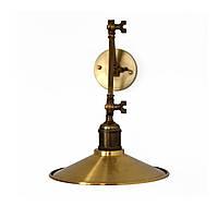 Настенно-потолочный светильник купол Loft Steampunk [ on Wall Ceiling Brass ] ( 3-х поворотный )
