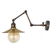 Настенно-потолочный светильник купол Loft Steampunk [ on Wall Ceiling Brass ] ( 4-х поворотный )