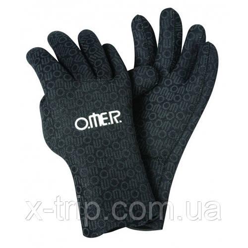 Перчатки для подводной охоты Omer Aquastretch 4 мм
