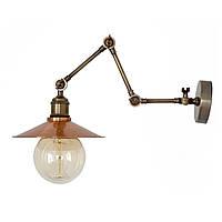 Настенно-потолочный светильник купол Loft Steampunk [ on Wall Ceiling Copper ] ( 4-х поворотный )