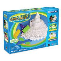 Набор для творчества Sands Alive! с мини-песочницей – ФАНТАЗЁР (песок 680 г, аксессуары)