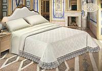 """Двуспальный комплект постельного белья с покрывалом DIBENEDETTO """"ORGANZA"""""""