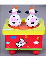 Музыкальная шкатулка Viga Toys, детская деревянная шкатулка