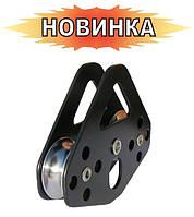 Блок-ролик Вертикаль ТАНДЕМ STURDY сталь с подшипником