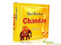 БЛАГОВОНИЕ БЕЗОСНОВНОЕ Hari Darshan Dhoop Chandan мягкое (16/УП) Сандал, Аюрведа Здесь