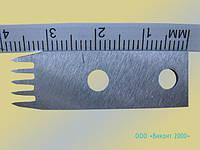 Нож промышленный 10х40х1,2 мм отсекающий для упаковочного автомата фирмы «Инта»