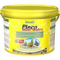 Tetra PLECO Multi Wafers 3,6L/1,75kg - чипсы для растительноядных рыб