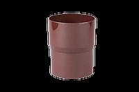Соединитель водосточной трубы Ø90/Ø75 Profil (белый, коричневый, кирпичный, красный, графитовый)