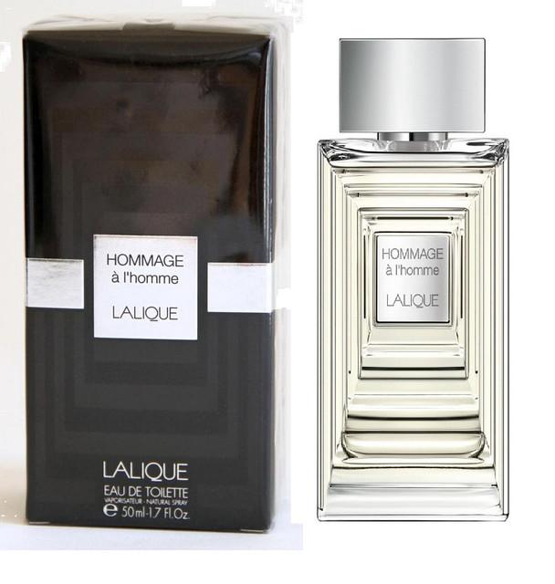 Мужская оригинальная туалетная вода Lalique Hommage a L'Homme , 50 ml NNR ORGAP /02