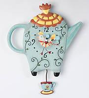 Часы настенные с маятником  Чайник