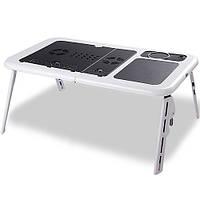 Столик раскладной для ноутбука с кулерами E-Table.