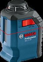 BOSCH GLL 2-20 Professional - Лазерный построитель плоскостей (лазерный уровень)