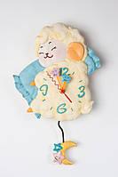 Часы настенные с маятником  Милая Овечка