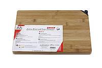 Кухонная доска с точилкой для ножей 2 в 1