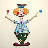 Часы настенные с маятником  Веселый Клоун