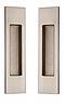 Ручки для раздвижных дверей MVM SDH-2 SN/CP - матовый никель/хром
