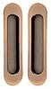 Ручки для раздвижных дверей MVM SDH-1 PCF - полированная бронза