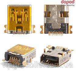 Коннектор зарядки для Dopod P860, 11 pin, оригинал