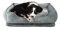Лежак для собаки Trixie Pino 50*40 серый/синий (38294)