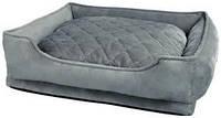 Лежак для кота Trixie Pino 50*40 серый/синий (38294)