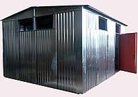 Здание модульной котельной