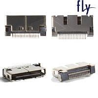 Коннектор зарядки для Fly B700, оригинал