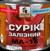 Сурик железный МА-15, 60,0 кг, для наружных работ