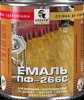 """Эмаль алкидная для пола ПФ-266 жёлто-коричневая """"Орех"""" 0,9 кг (стандарт)"""