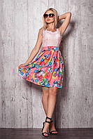 Летнее платье из немнущейся ткани