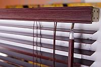 Горизонтальные жалюзи бамбук 25 мм тигровый глаз