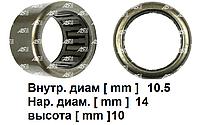 Подшипник стартера для Nissan Primastar 2.0 dci. Ниссан Примастар. Игольчатый. 10.5x14x10 мм. Код ABE9065  AS