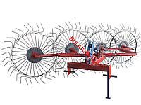 Грабли ворошилки (Солнышко) для мини-трактора (Украина-Польша) толщина проволоки - 6мм
