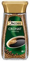 Растворимый кофе Jacobs CRONAT KRAFTIG 100% арабика 200г