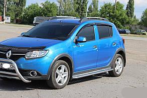 Боковые площадки (Premium) Renault Sandero Stepway (2013+)