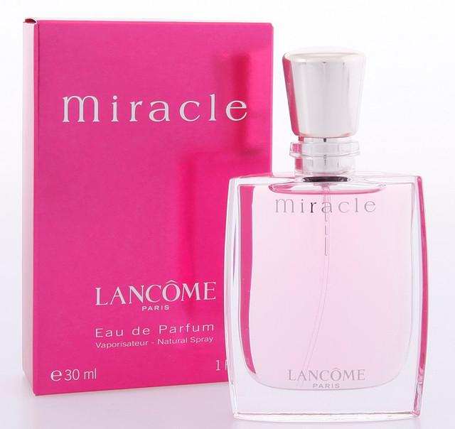 Женская оригинальная парфюмированная вода Miracle Lancôme, 30ml  NNR ORGAP /4-73
