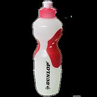 Бутылка для воды с красными вставками, 650 мл