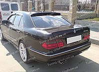 Спойлер на стекло Мерседес W210 (спойлер заднего стекла Mercedes W210)