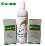 Мазь Антипсор 2 шт , шампунь или гель нафталановый Елиф
