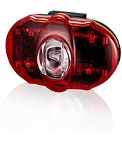 Задній ліхтар світлодіодний +батарейки INFINI I-406 Vista 3 SMD LED, 2 режими, крепл.