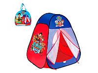 """Палатка M 1429 """"Щенячий патруль"""", 80-80-90 см"""